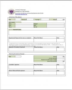 Salary advance form template – Downloads and apps