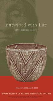 Entwined with Life, Native American Basketry postcard