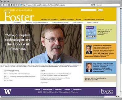 Foster School website