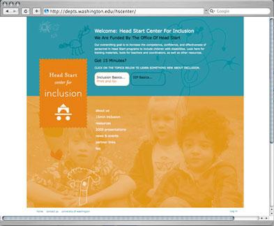 Head Start Center for Inclusion website