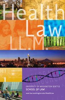 Health Law LL.M. brochure
