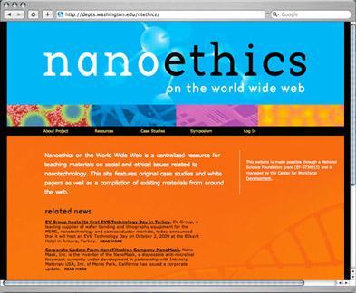 Ethics of Nanotechnology website