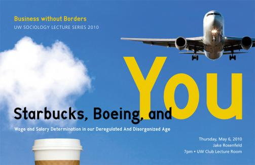 Starbucks, Boeing, and You