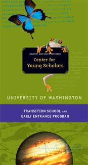 Transition School and Early Entrance Program brochure