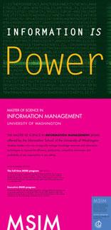 Information is Power poster