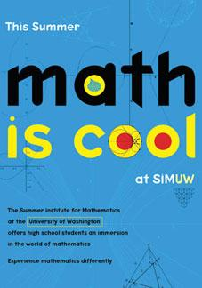 Math is Cool brochure