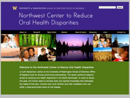 Northwest Center to Reduce Oral Health Disparities  > homepage