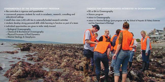 Oceanography brochure