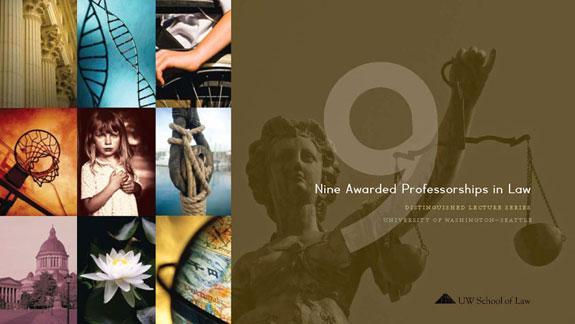 Nine Awarded Professorships in Law brochure