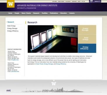 Research page