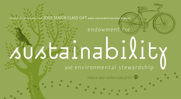 Senior Class Gift postcard