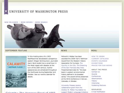 University of Washington Press > homepage