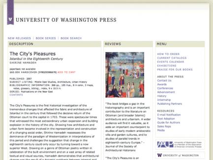 University of Washington Press > Book page