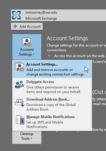 Sharing Outlook Email Folders | Records Management Services