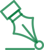 green pen tip icon
